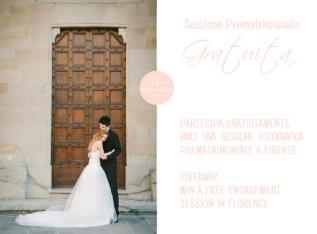 Giveaway sessione fotografica prematrimoniale(gratuita)