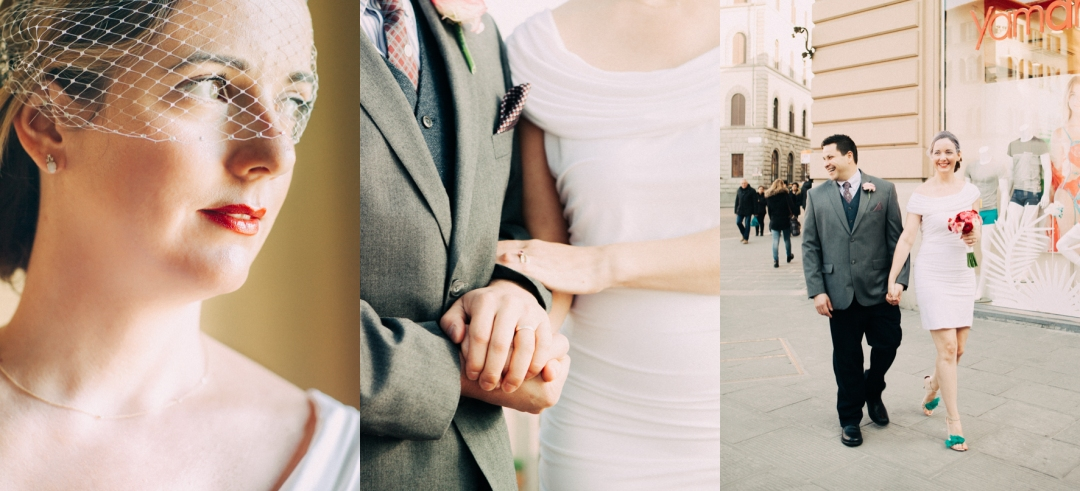 Florence Wedding Photographer creates unique memories. Fine Art Wedding photographer