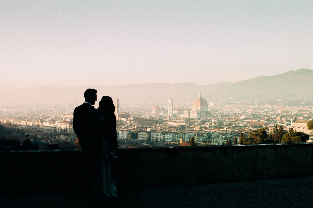 Florence Elopement Photography in Tuscany. Sonya Lalla Photography is Florence wedding photographer